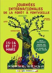 forêt, apier, conférences, ateliers, apiculture, fontvieille